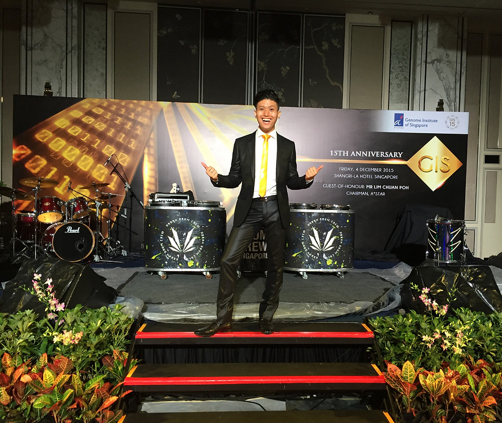 Emcee Singapore - Ainsley Chong, Genome Institute of Singapore 15th Anniversary Gala Dinner