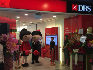Official Opening of DBS Aperia Branch and SME Banking Centre
