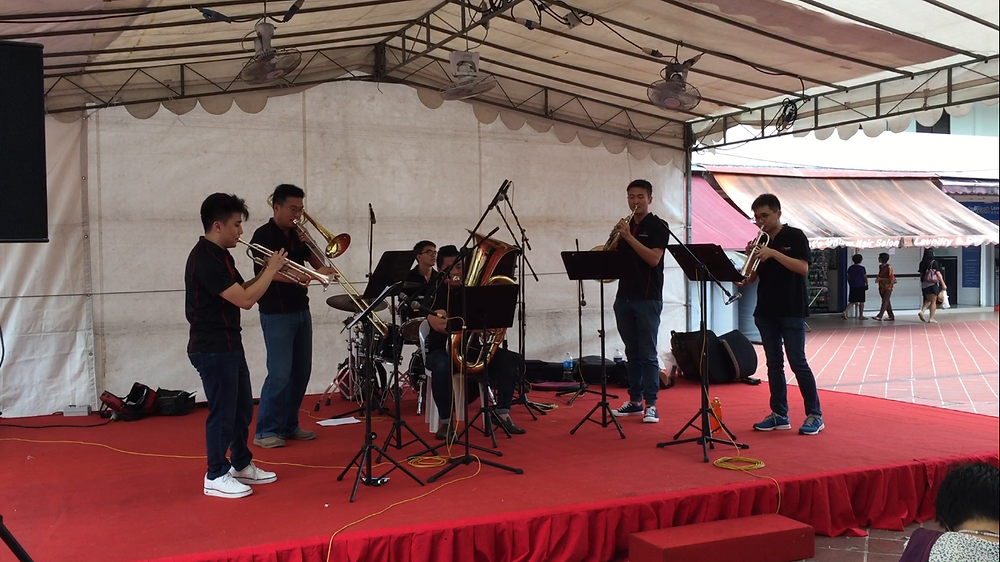 Emcee Singapore - Ainsley Chong, Bedok Kaleidoscope - The Philharmonic Brass