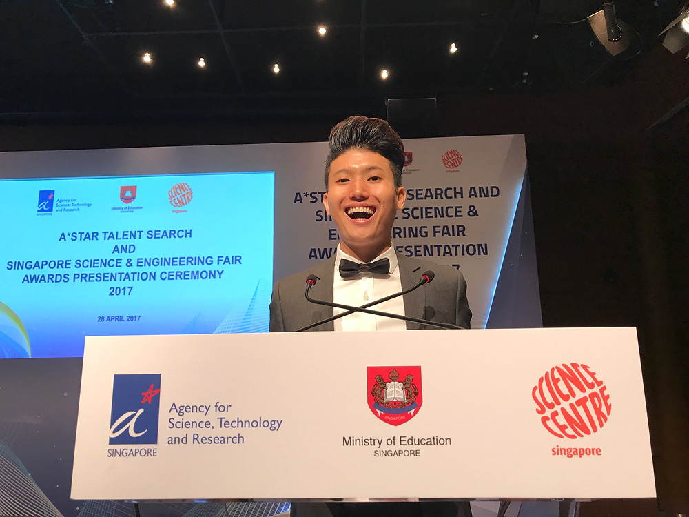 Emcee Singapore - Ainsley Chong, A*STAR Talent Search and Singapore Science & Engineering Fair Awards Presentation Ceremony 2017