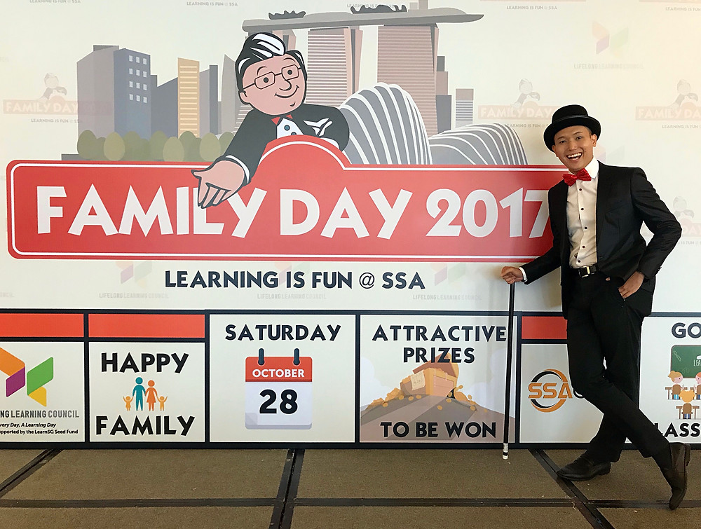 Emcee Singapore - Ainsley Chong, SSA Consulting Group Family Day 2017