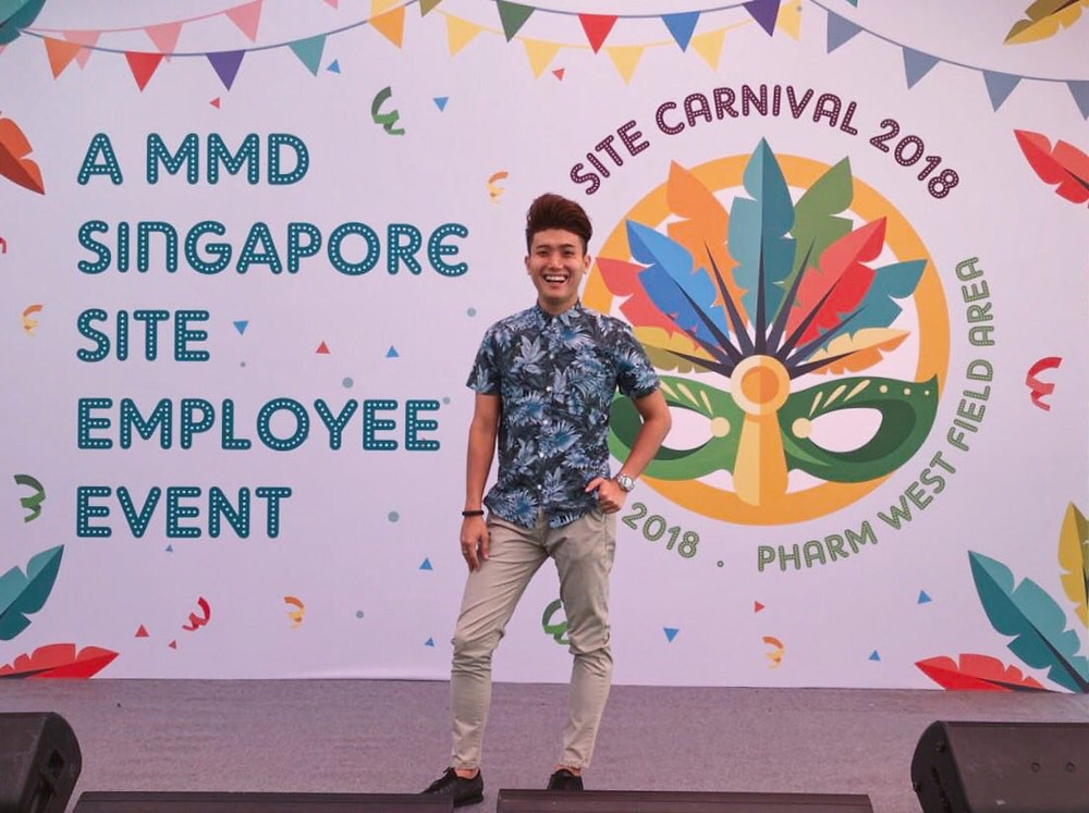 Emcee Singapore - Ainsley Chong, MMD Singapore Site Carnival 2018