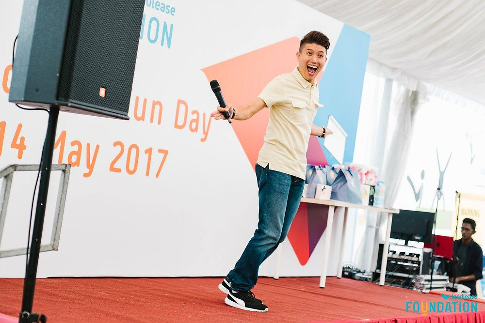 Emcee Singapore - Ainsley Chong, Lendlease Fun Day 2017