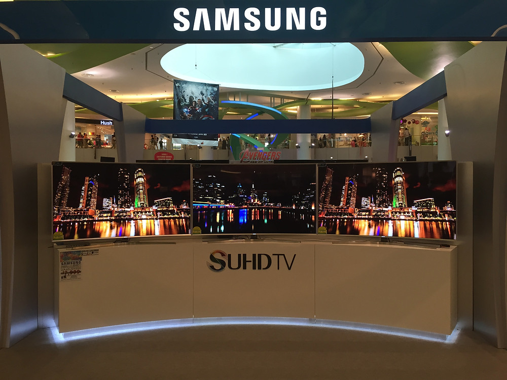 Emcee Singapore - Ainsley Chong, Launch of Samsung SUHDTV