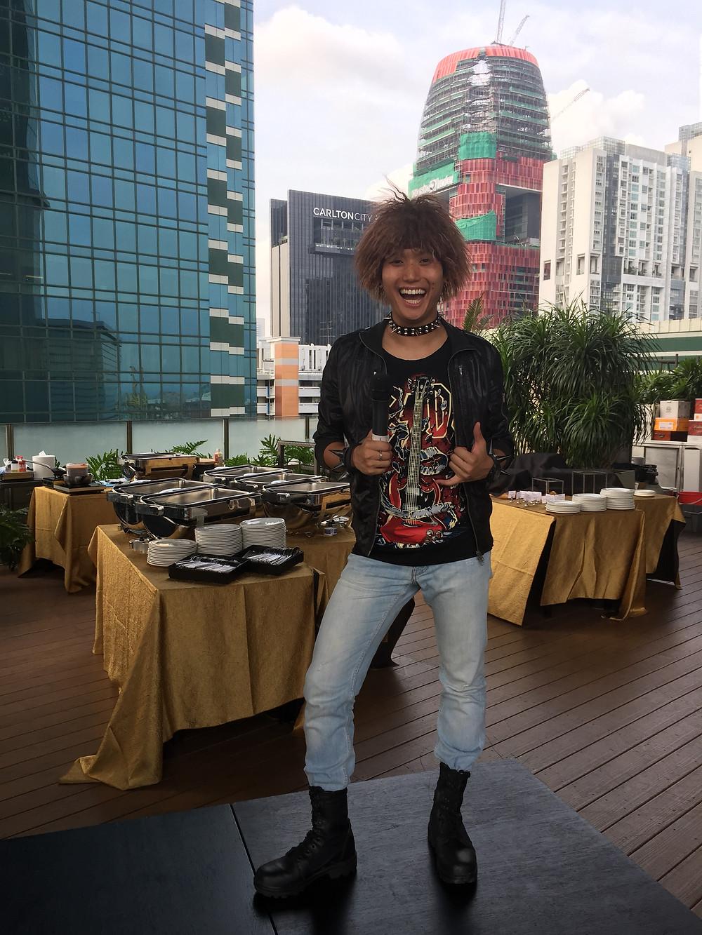 Emcee Singapore - Ainsley Chong, Swiss Club Dinner & Dance 2015