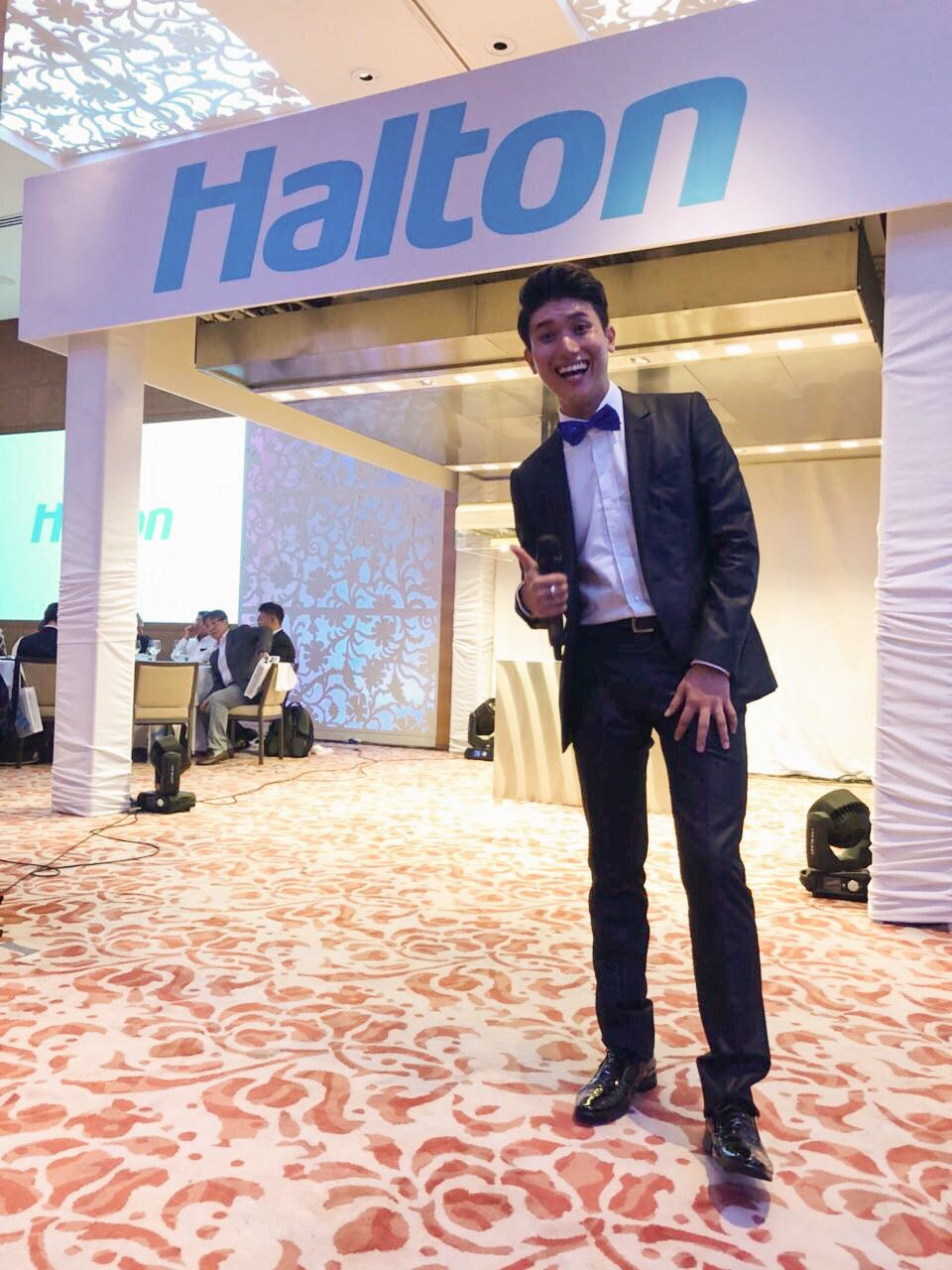 Emcee Singapore - Ainsley Chong, Launch of Halton JES HD