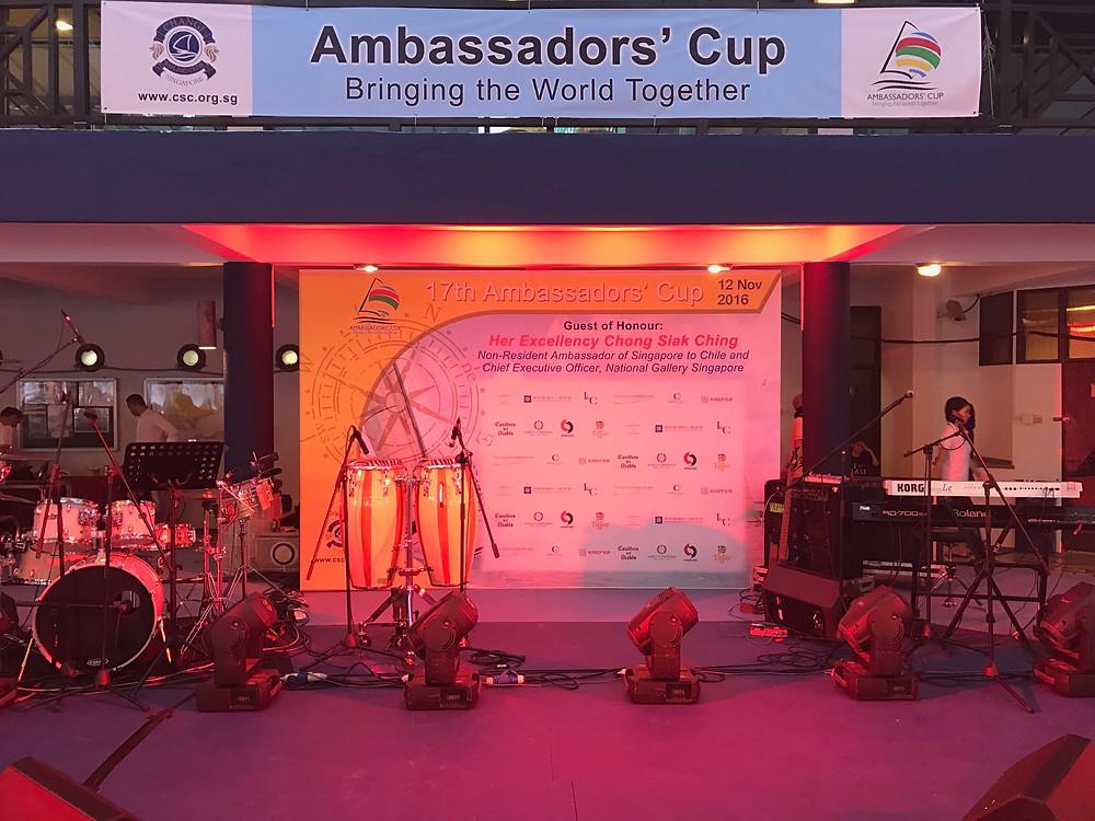 Emcee Singapore - Ainsley Chong, Changi Sailing 17th Ambassadors' Cup 2016 1