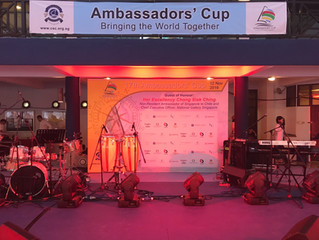 Changi Sailing 17th Ambassadors' Cup 2016