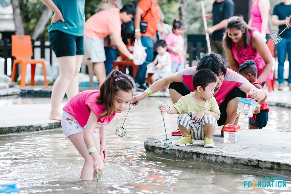 Emcee Singapore - Ainsley Chong, Lendlease Fun Day 2017