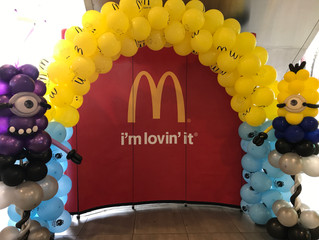 The Big Yellow Takeover at McDonald's, in conjunction with Despicable Me 3
