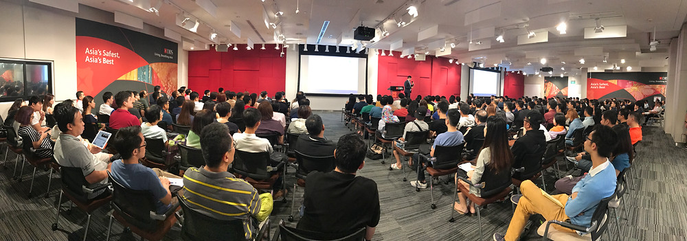 Emcee Singapore - Ainsley Chong, Investors Exchange 2017 hosted by BIGScribe