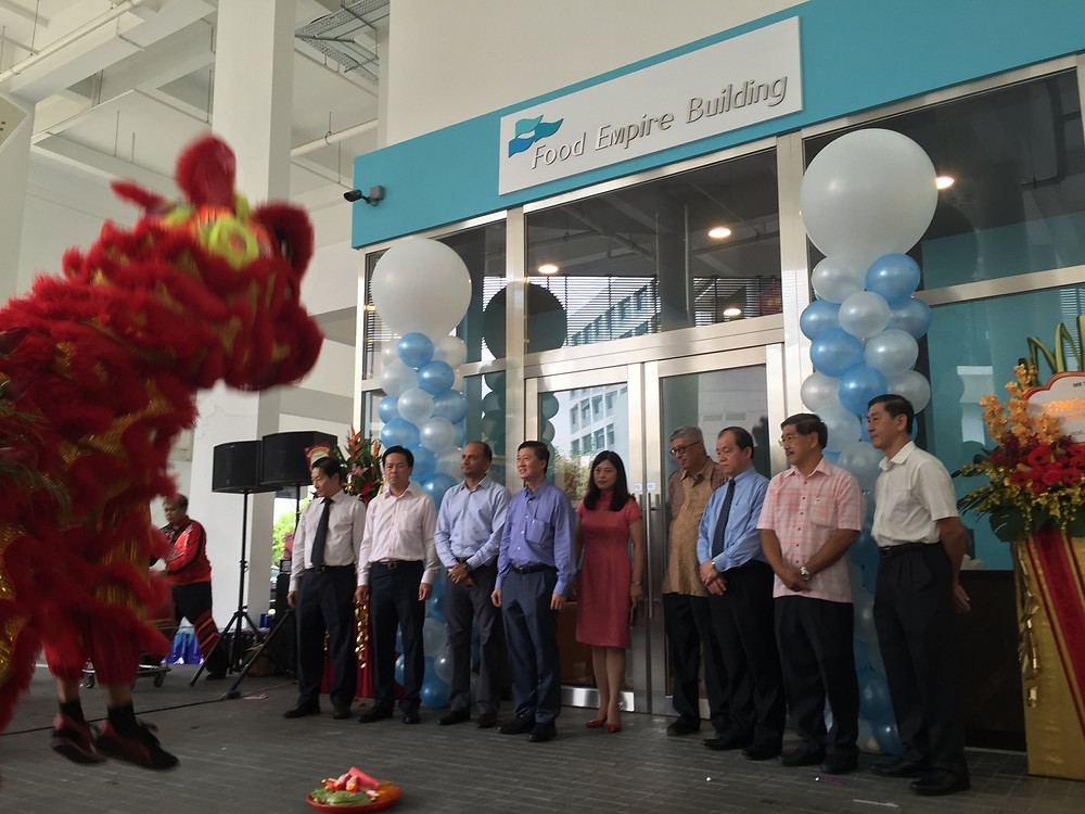 Emcee Singapore - Ainsley Chong, Official Opening of Food Empire Building