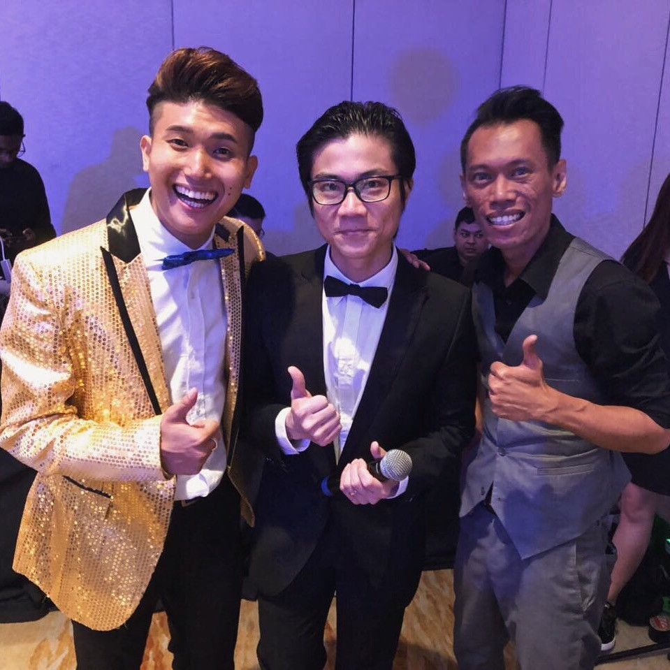 Emcee Singapore - Ainsley Chong, Maritime and Port Authority of Singapore (MPA) Dinner & Dance 2018