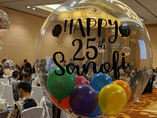 Sanofi 25th Anniversary Silver Glamorous Party