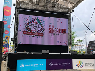 Singapore Sports Hub National Day Fiesta 2018