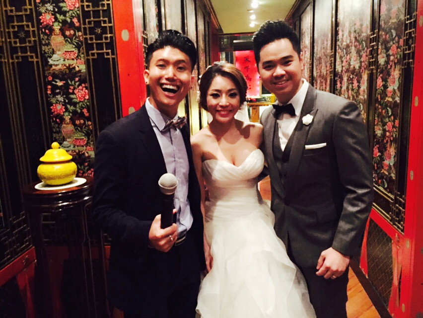 Emcee Singapore - Ainsley Chong, Wedding Dinner of Warren Wu and Andrea Hoon