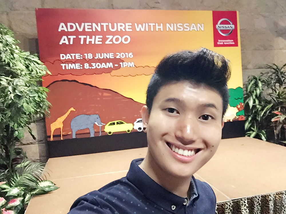 Emcee Singapore - Ainsley Chong, Adventure with Nissan