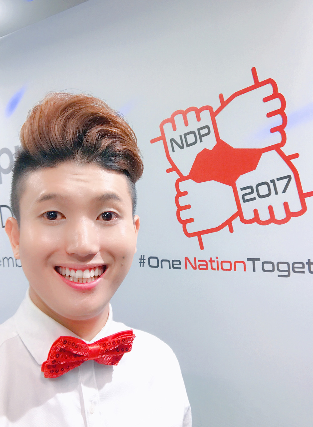 Emcee Singapore - Ainsley Chong, Keppel Group National Day Parade Appreciation Dinner 2017