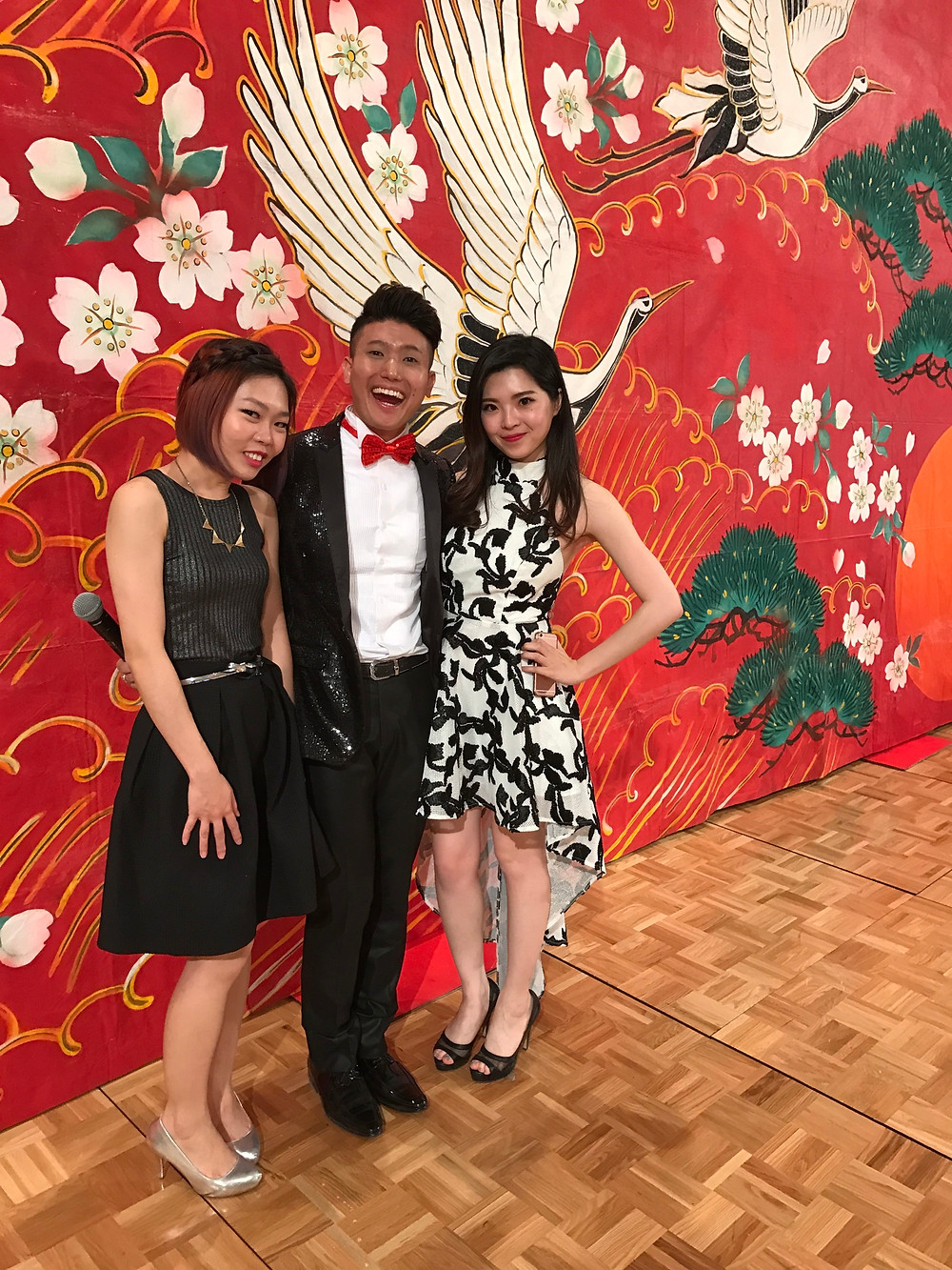 Emcee Singapore - Ainsley Chong, SK-II Gala Dinner 2017