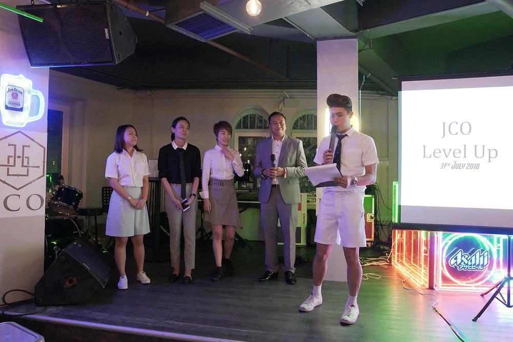 Emcee Singapore - Ainsley Chong, JCO Client Appreciation Night