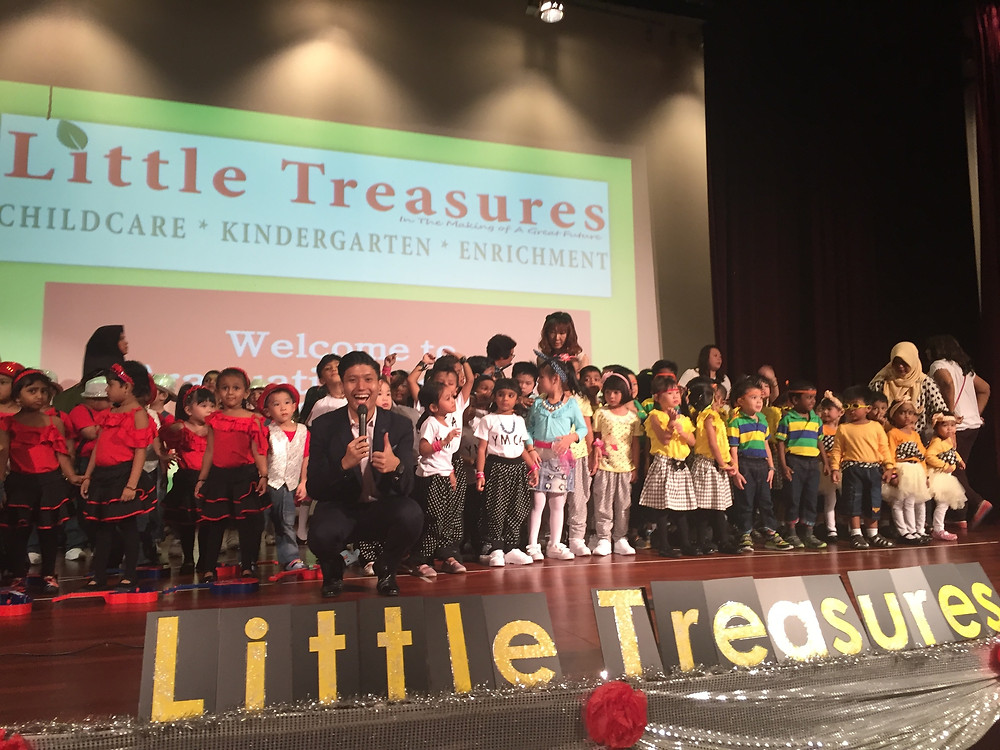 Emcee Singapore - Ainsley Chong, Little Treasures Childcare and Kindergarten Graduation