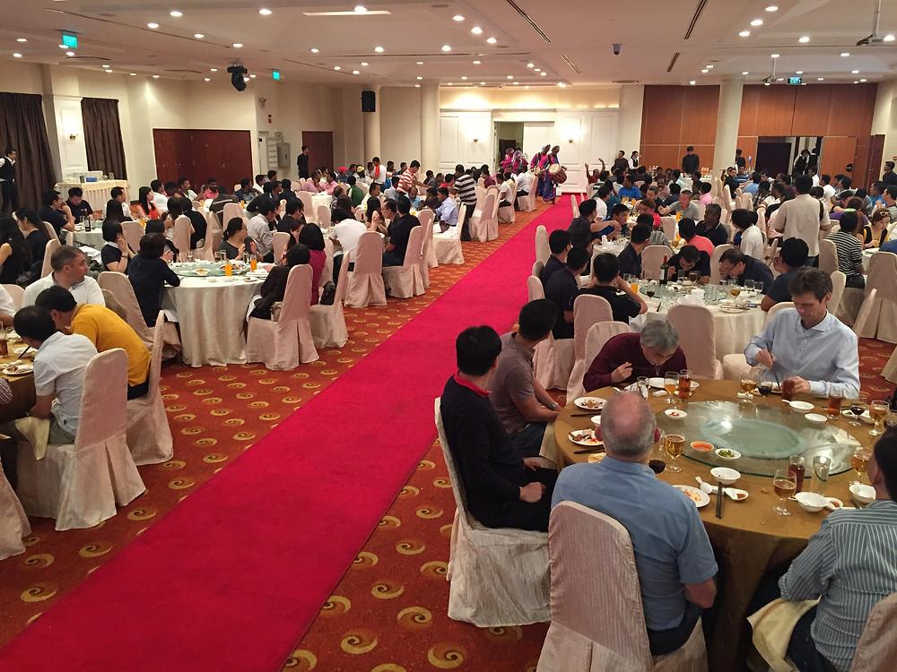 Emcee Singapore - Ainsley Chong, Jebsen & Jessen Offshore 2016 Annual Dinner