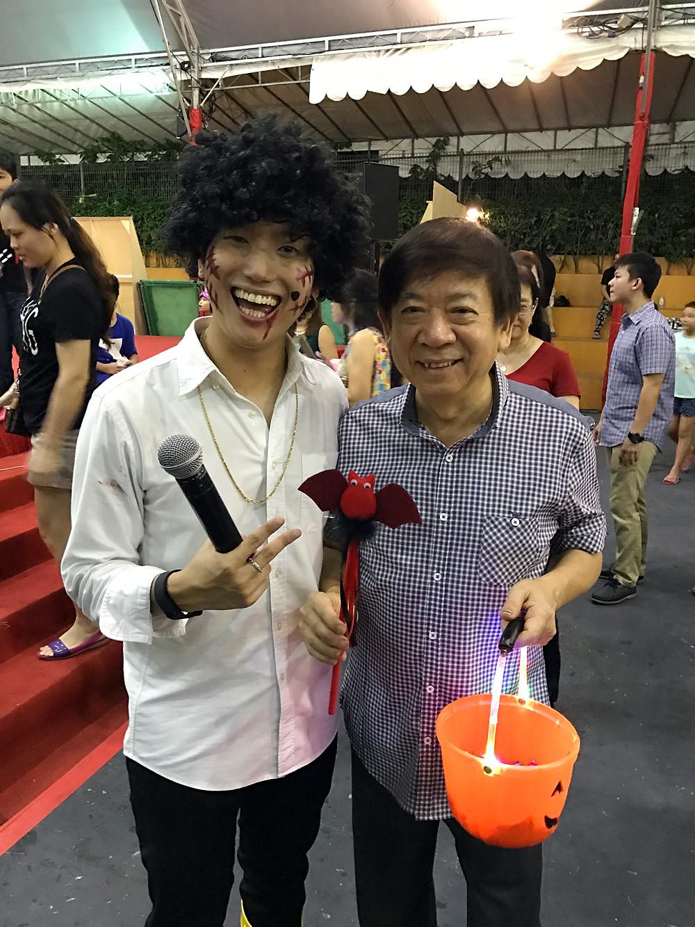 Singapore Emcee - Ainsley Chong, Sembawang CC House of Horrors 2 4