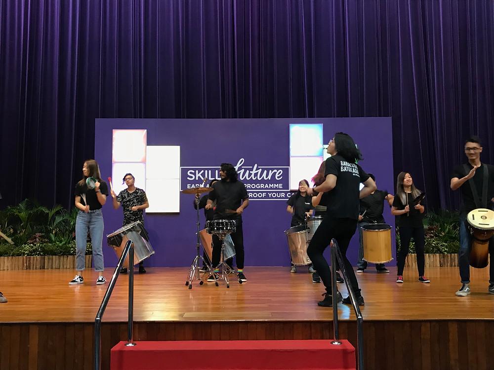 Emcee Singapore - Ainsley Chong, SkillsFuture Earn & Learn Programme