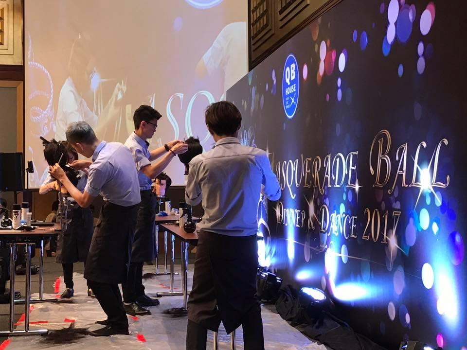 Emcee Singapore - Ainsley Chong, QB House Dinner & Dance 2017