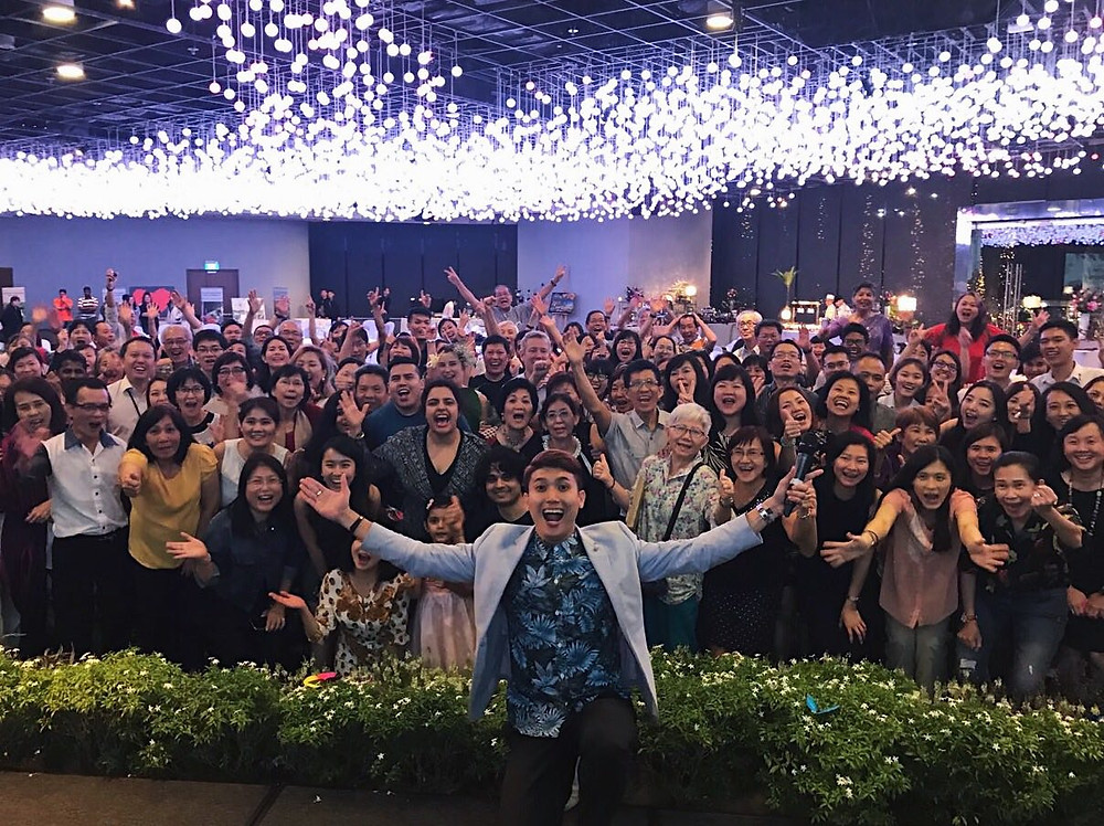 Emcee Singapore - Ainsley Chong, Gardens by the Bay Volunteer Appreciation Night 2018