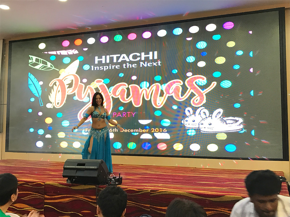 Emcee Singapore - Ainsley Chong, Hitachi Dinner & Dance 2016