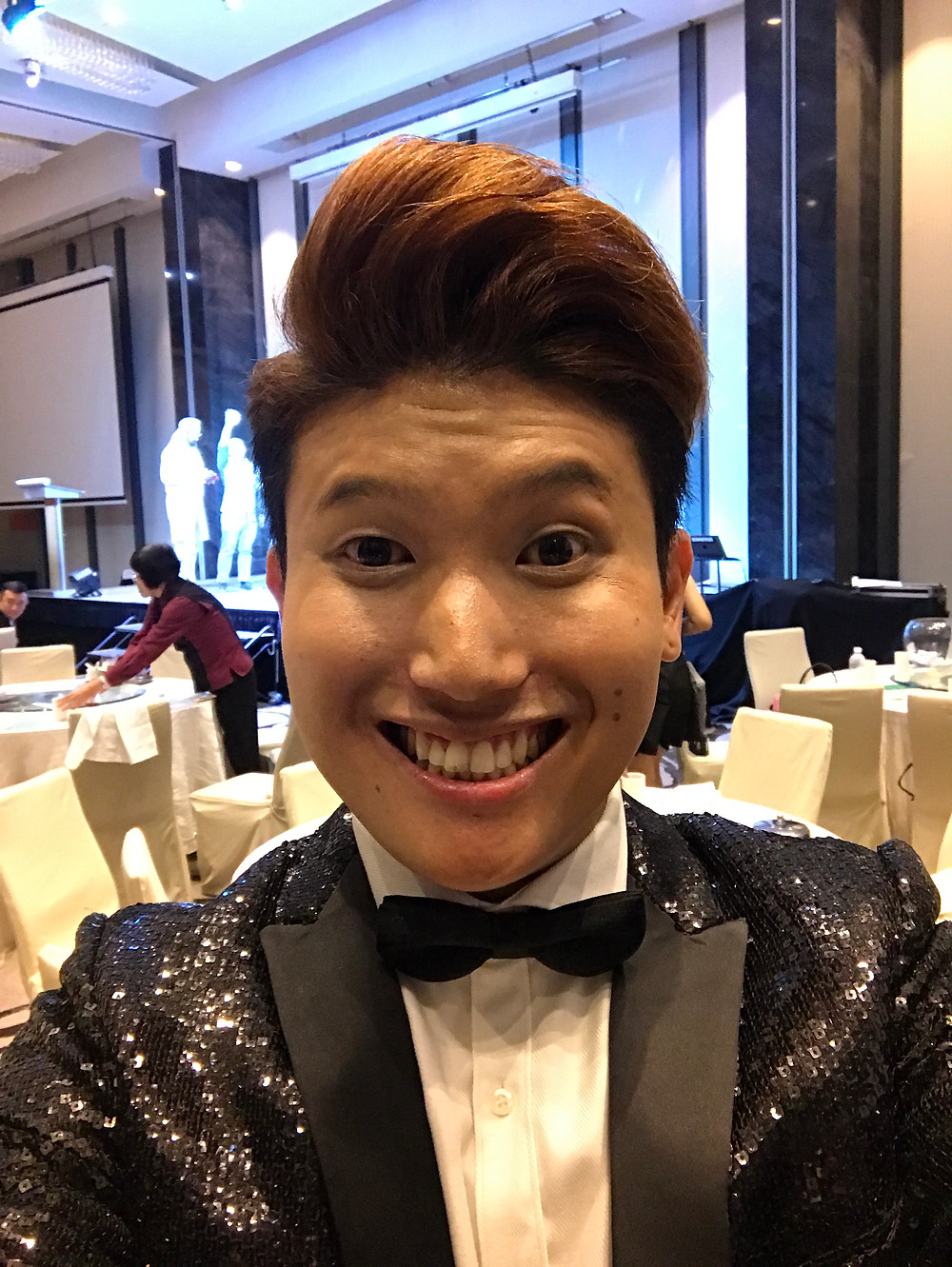 Emcee Singapore - Ainsley Chong, Fengshan Primary School Teachers' Day Dinner 2017