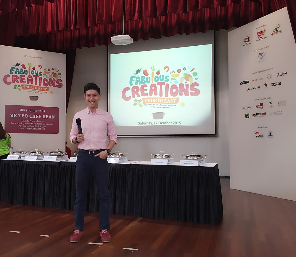 Emcee Singapore - Ainsley Chong, FAUulous Creations at North East
