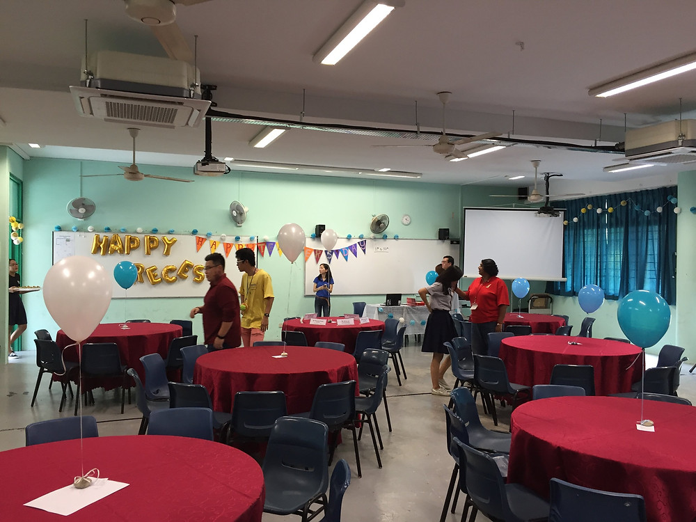 Emcee Singapore - Ainsley Chong, Junyuan Secondary School Teachers' Day Lunch 1