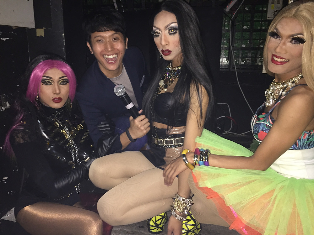 Emcee Singapore - Ainsley Chong, In The Dark Asia presents Adore Delano