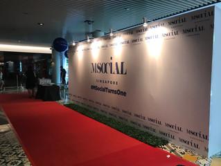 M Social Singapore 1st Year Anniversary
