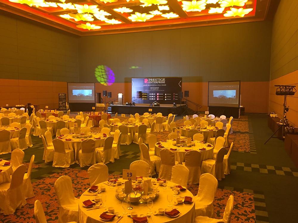 Emcee Singapore - Ainsley Chong, SG50 Prestige Enterprise Awards Gala Dinner