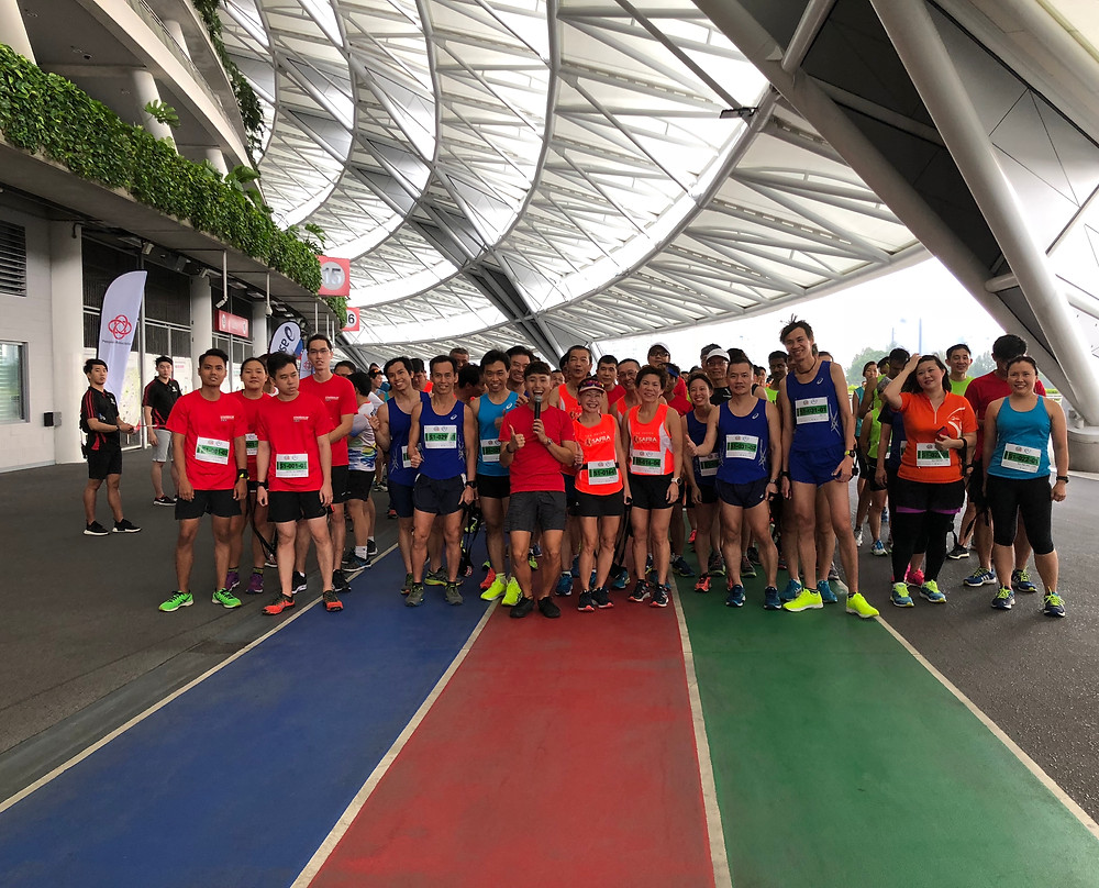 Emcee Singapore - Ainsley Chong, Singapore Community Games 2018 - ASICS Community Ultra Ekiden Run