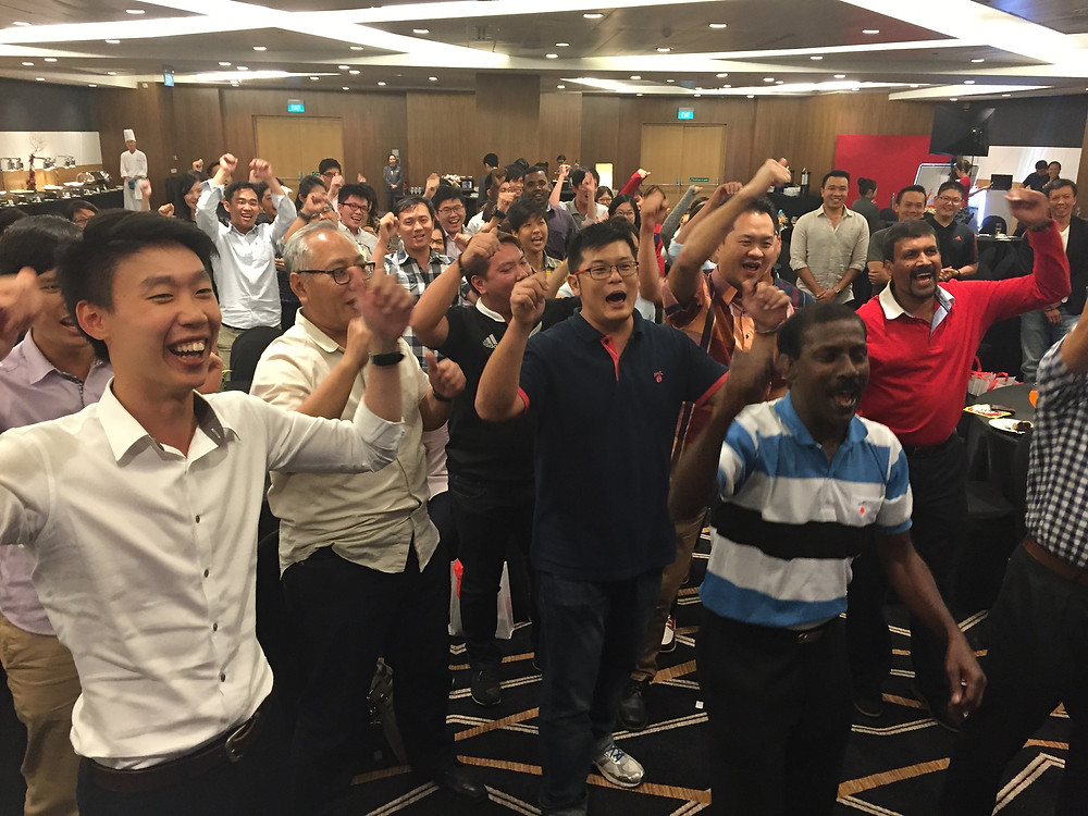 Emcee Singapore - Ainsley Chong, Keppel Group National Day Parade 2015 Appreciation Dinner