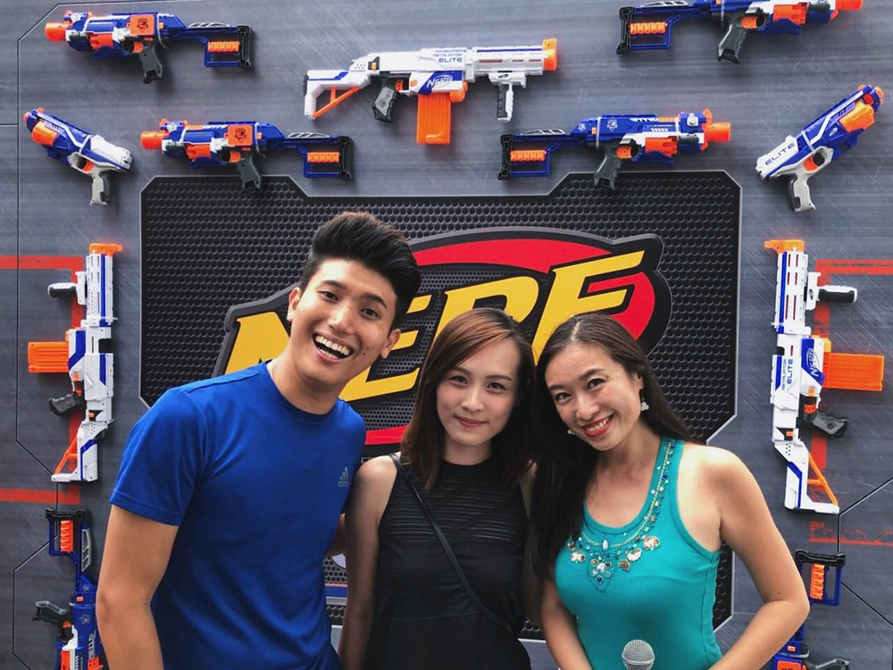 Emcee Singapore - Ainsley Chong, NERF Nation Games 2018