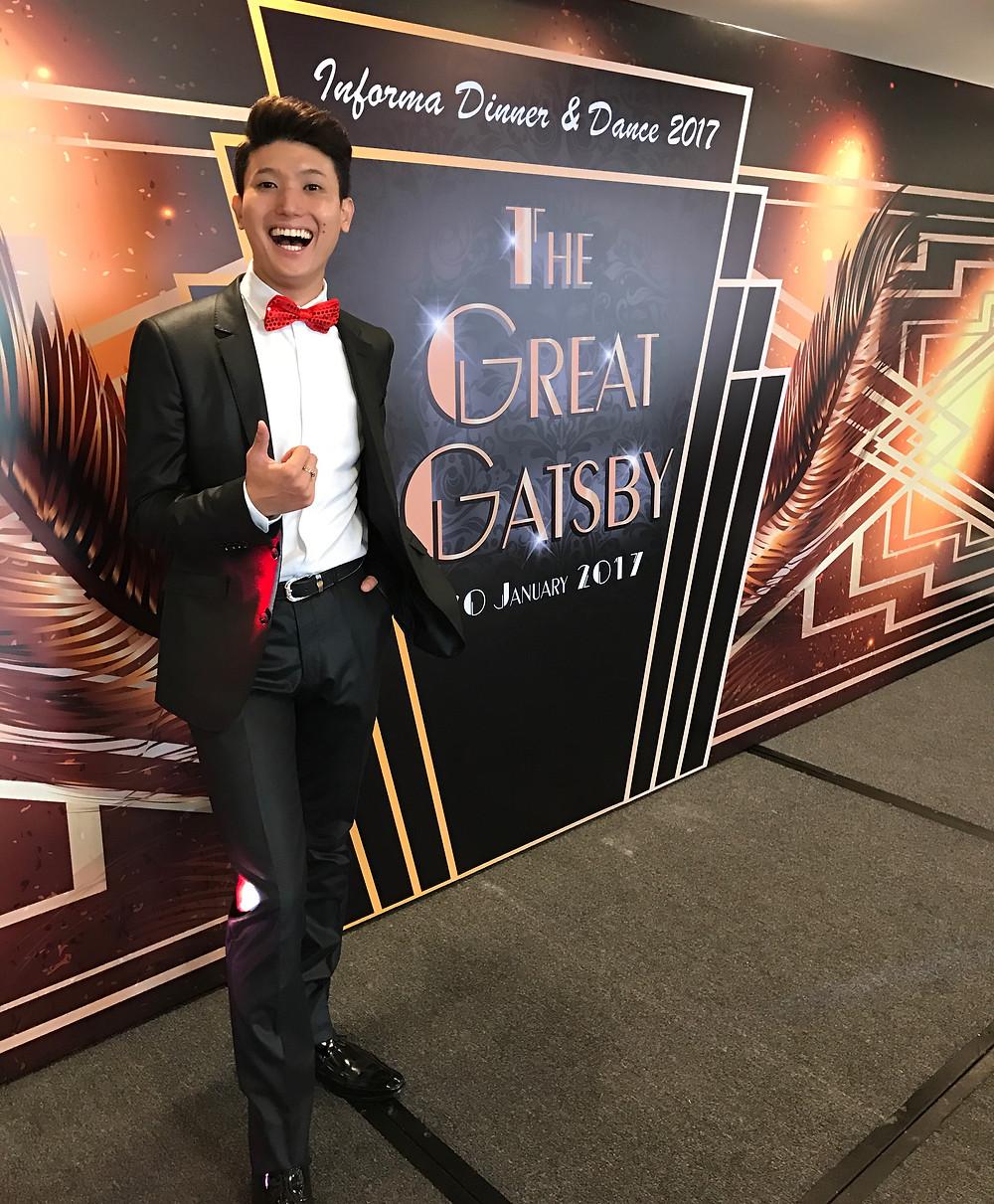 Emcee Singapore - Ainsley Chong, Informa Dinner & Dance 2017