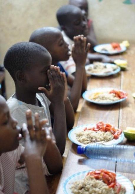 Bénediction du repas