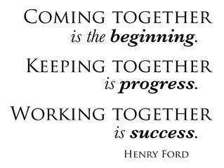 The Success of Teamwork