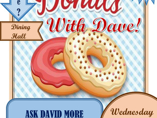 Day 13: 'Donuts with Dave'!