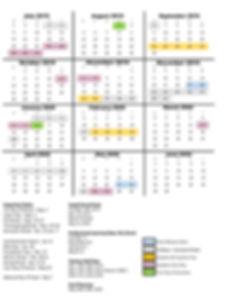 2019-20 School Calendar - NEW MODEL - AP