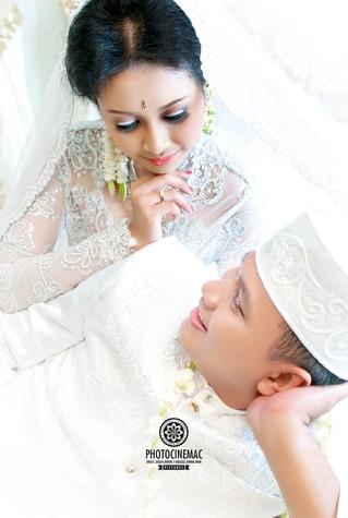 THE WEDDING NITA & YOGIE, Moment special di kamar pengantin menjadi pilihan yang elegant