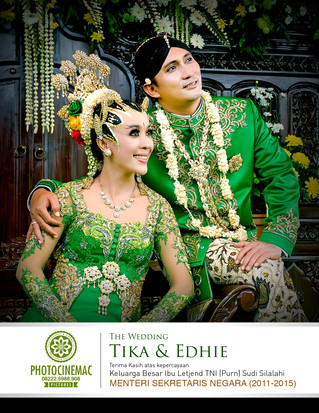 THE WEDDING TIKA & EDDIE, Keluarga Besar Ibu Letjen TNI (Purn) Sudi Silalahi
