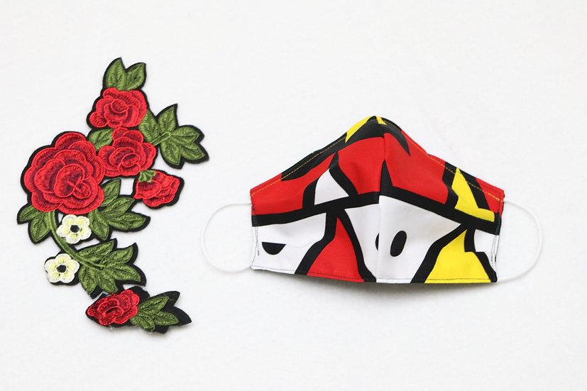 Colorful Pattern Mask