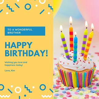 Confetti Cupcake Photo Birthday Instagra