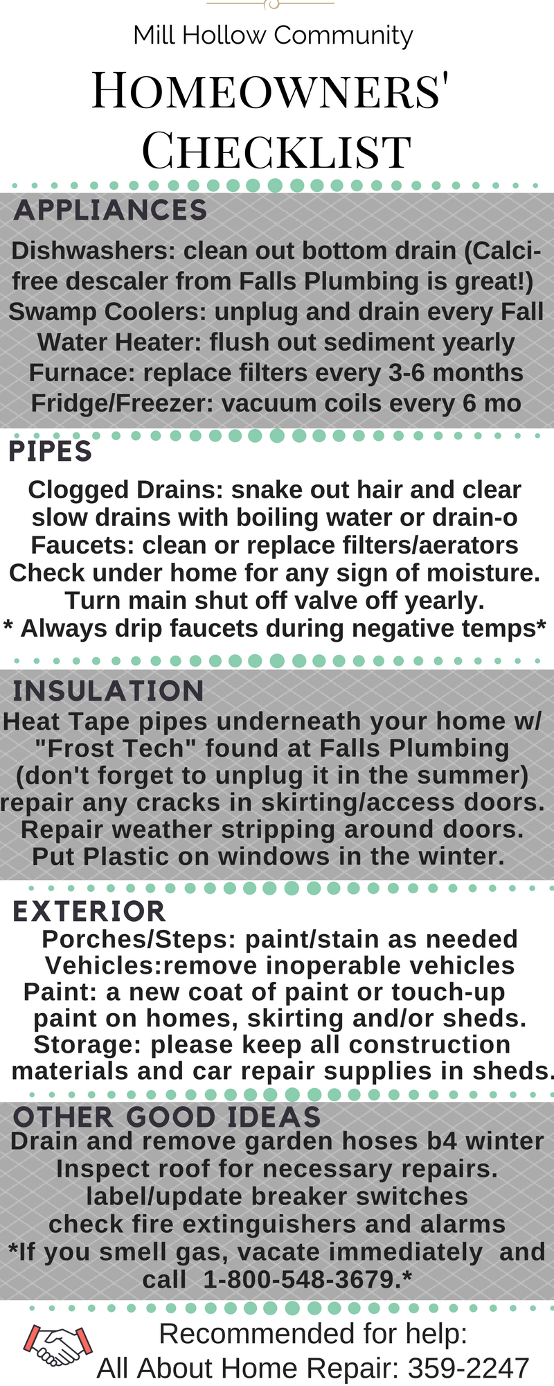 How to avoid some common maintenance costs!